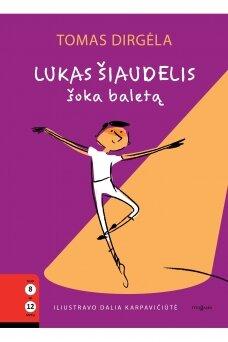 Lukas Šiaudelis šoka baletą