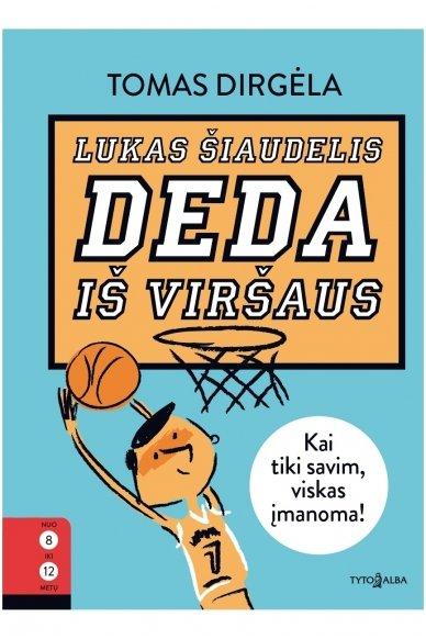 Lukas Šiaudelis deda iš viršaus