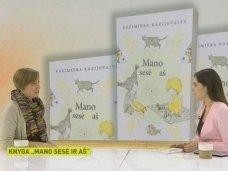 """Pokalbis su knygos """"Mano sesė ir aš"""" autore laidoje """"Labas rytas, Lietuva"""""""