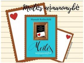 """Knygos apžvalga (Perskaitytų knygų dienoraštis). Hannah Rothschild """"Meilės neįmanomybė"""""""