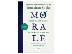 """Knygos apžvalga. Jonathan Sacks """"Moralė"""" (Vytautas Kasiulevičius)"""
