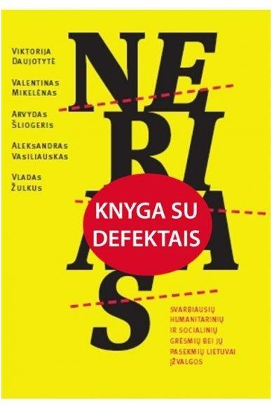 Nerimas (knyga su defektu)