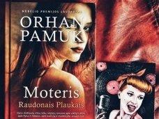 """Knygos apžvalga (Mamos Pelėdos Užrašai). Orhan Pamuk. """"MOTERIS RAUDONAIS PLAUKAIS"""""""
