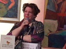 """Pavasaris širdy, poezija širdy. Po susitikimo su poete, dramaturge, scenariste, vertėja Violeta Palčinskaite Pasaulio lietuvių centre, galerijoje """"Siela"""""""