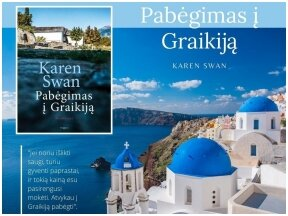 """Knygos apžvalga (Perskaitytų knygų dienoraštis). Karen Swan """"Pabėgimas į Graikiją"""""""