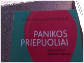 Knygos apžvalga (Kliukarka). Nerimas ir panika: išeičių yra!