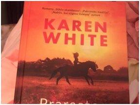 """Knygos apžvalga (Rasa Niekienė). Karen White. """"Prarastos valandos"""""""