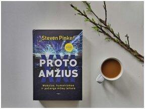 Knygos apžvalga (Perskaičiau). Steven Pinker – Proto amžius