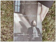 """Knygos apžvalga (Book I Took). Algirdas Toliatas """"Ramybė tau"""" – tai ne religija, tai – žmogiškumas"""