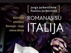 """Knygos apžvalga (Perskaičiau). Jurga Jurkevičienė, Paulius Jurkevičius ,,Romanas su Italija"""""""