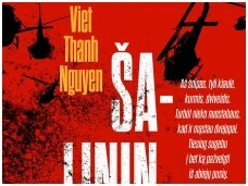 """Knygos apžvalga (Maištinga siela). Knyga: Viet Thanh Nguyen """"Šalininkas"""""""
