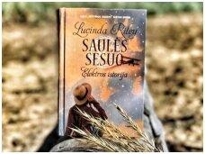 """Knygos apžvalga (Puslapiai ir puodai). Lucinda Riley """"Saulės sesuo"""""""