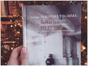 """Kunigas Algirdas Toliatas – """"Šeštas jausmas yra pirmas"""" – ne tik į bažnyčią vaikštantiems"""
