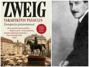 """Stefano Zweigo """"Vakarykštis pasaulis"""" – sugrįžta viena labiausiai šiandien cituojamų knygų"""