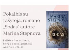 Pokalbis su rašytoja Marina Stepnova