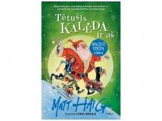 Sūnaus klausimas apie Kalėdų senelį įkvėpė rašytoją sukurti knygų seriją vaikams