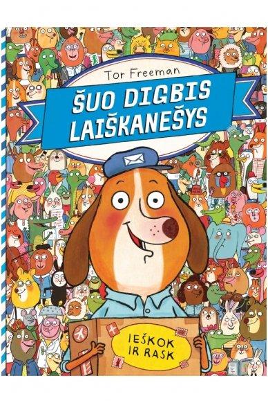 Šuo Digbis laiškanešys