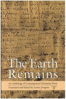 The Earth remains (knyga su defektu)