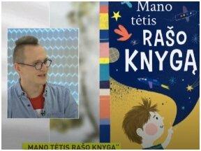 """Pokalbis su vaikų rašytoju Tomu Dirgėla apie  naujausias knygas laidoje  """"Labas rytas, Lietuva"""" (nuo 28:18)"""