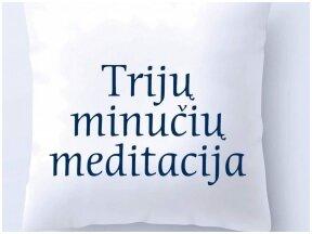"""Knygos apžvalga (Žnių radijas). Šokoladas sielai: Christophe Andre """"Trijų minučių meditacija"""""""
