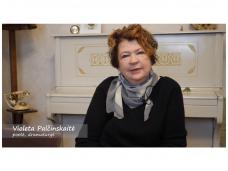Literatūros pamoka su Violeta Palčinskaite