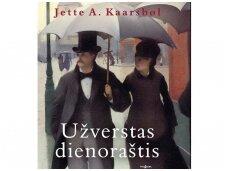 """Knygos ištrauka. Jette A.Kaarsbøl """"Užverstas dienoraštis"""""""
