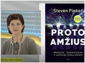Knygos apžvalga (Jolanta Kryževičienė). Steven Pinker. PROTO AMŽIUS