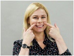 Itin trumpa veido mankšta padės atsikratyti nosies ir lūpų raukšlių