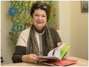 """Naują knygą vaikams išleidusi Violeta Palčinskaitė: viskas prasidėjo nuo paprasto, gal kiek ir pamiršto posakio """"bala nematė"""""""
