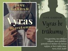 """Knygos apžvalga (Perskaitytų knygų dienoraštis). Jane Gardam """"Vyras be trūkumų"""""""