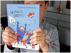 """Knygos apžvalga (Mama ir vaikas skaito).Tomas Dirgėla """"Vytautas Didysis """"Žalgirio arenoje"""""""