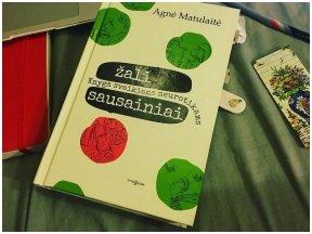 """Knygos apžvalga (8 diena).  Kokio skonio A. Matulaitės """"Žali sausainiai""""?"""