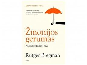 """Knygos apžvalga. R. Bregman """"Žmonijos gerumas"""" (Knygų dama)"""