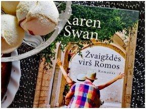 Knygos apžvalga (Greta Brigita). ŽVAIGŽDĖS VIRŠ ROMOS - Karen Swan